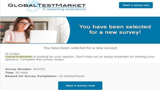 Encuestas en GlobalTestMarket