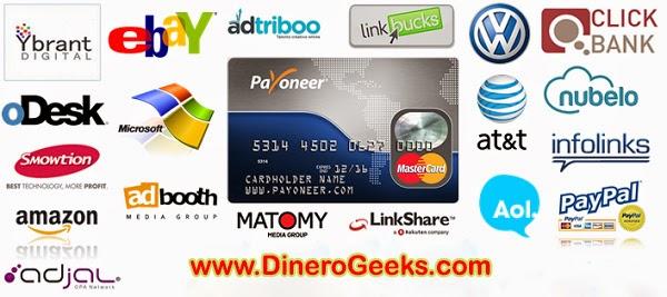 Tarjeta MasterCard Payoneer