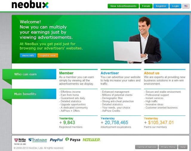 Como ganar dinero con neobux