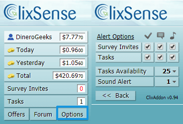 ClixAddon ClixSense