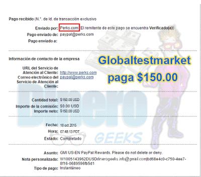 globaltestmarket paga
