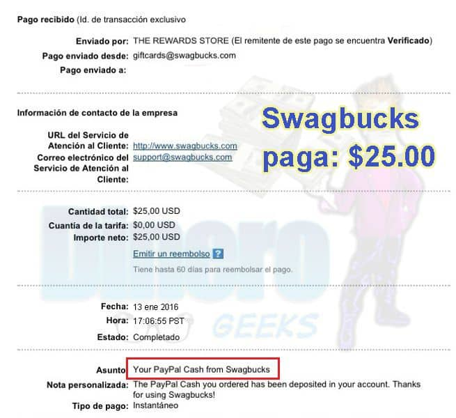 swagbucks paga