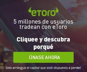 Registro gratuito en eToro