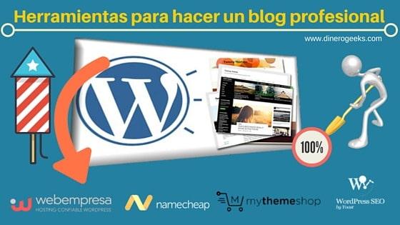 hacer un blog profesional