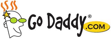 Logo de la empresa GoDaddy