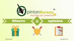 Opinion Bureau paga con tarjeta VISA virtual