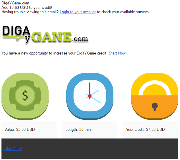Encuestas remuneradas en DigayGane