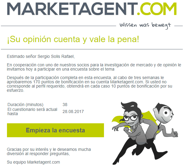 Encuestas pagadas MarketAgent