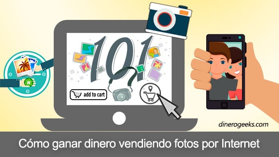 Vender fotos por internet