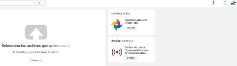 Cómo subir videos a YouTube