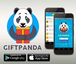 GiftPanda paga con tarjeta VISA virtual