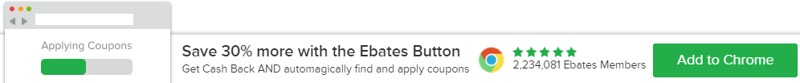 Ebates app Chrome