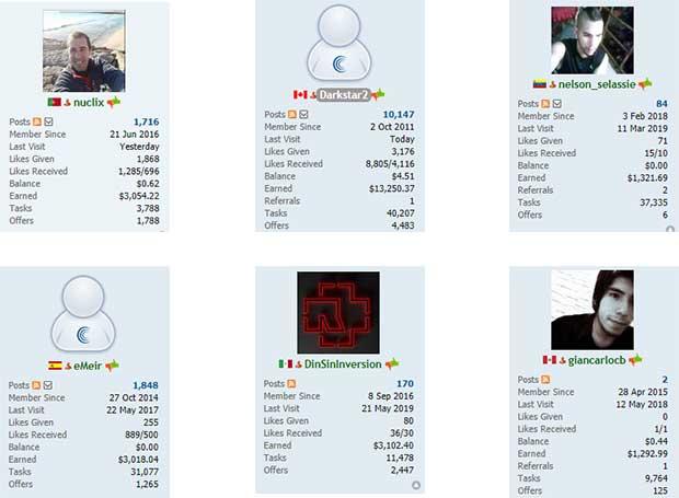 Personas que ganan mucho dinero en ClixSense