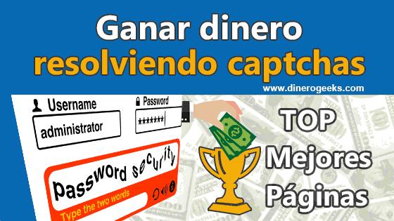 Ganar dinero resolviendo captchas