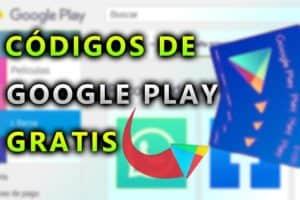 Códigos de Google Play gratis
