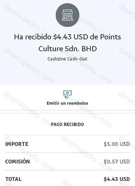 Cashzine paga