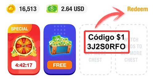ClipClaps codigo $1