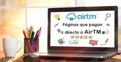 Páginas que pagan por AirTM