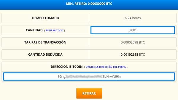 Retirar bitcoins de reebitcoin AirTM
