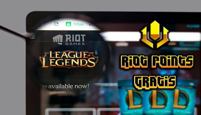 Riot Points gratis lol